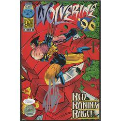 """Stan Lee Signed 1996 """"Wolverine '96"""" Issue #1 Marvel Comic Book (JSA COA  Lee Hologram)"""