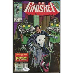 """Stan Lee Signed 1989 """"The Punisher"""" Issue #28 Marvel Comic Book (JSA COA  Lee Hologram)"""