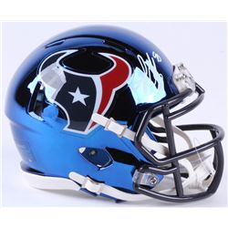 Jadeveon Clowney Signed Texans Chrome Speed Mini-Helmet (JSA COA)