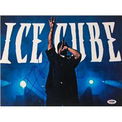 Ice Cube Signed 11x14 Photo (PSA COA)