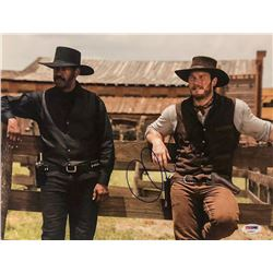 "Chris Pratt Signed ""The Magnificent Seven"" 11x14 Photo (PSA COA)"
