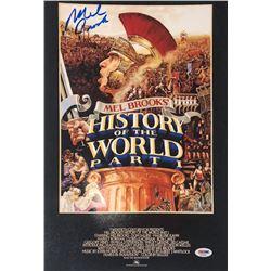"Mel Brooks Signed ""History of the World, Part I"" 11x17 Photo (PSA COA)"