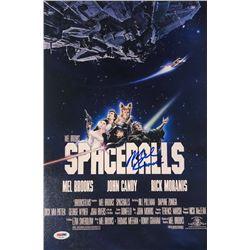 "Mel Brooks Signed ""Spaceballs"" 11x17 Photo (PSA COA)"
