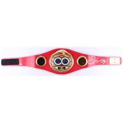 Floyd Mayweather Jr. Signed Full-Size IBF Heavyweight Championship Belt (Beckett COA)