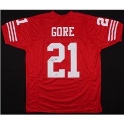 Frank Gore Signed 49ers Jersey (Beckett COA)