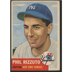 1953 Topps #114 Phil Rizzuto