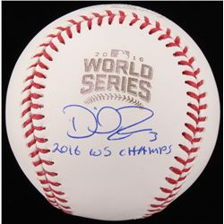 "David Ross Signed 2016 World Series Baseball Inscribed ""2016 WS Champs"" (Schwartz COA)"