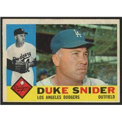 1960 Topps #493 Duke Snider