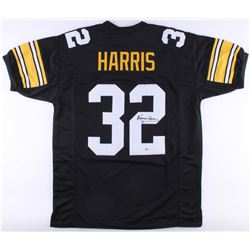 Franco Harris Signed Steelers Jersey (Beckett COA)