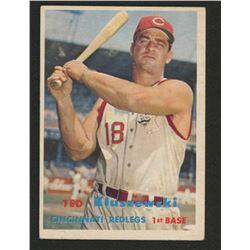 1957 Topps #165 Ted Kluszewski