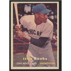 1957 Topps #55 Ernie Banks