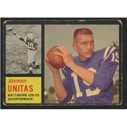 1962 Topps #1 Johnny Unitas