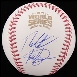 Theo Epstein  Jed Hoyer Signed Official 2016 World Series Baseball (Schwartz COA)