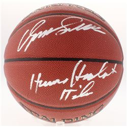 "Dominique Wilkins Signed NBA Basketball Inscribed ""Human Highlight Film"" (Schwartz COA)"