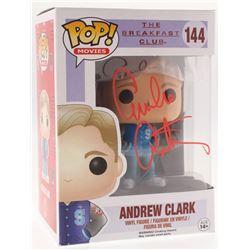 """Emilio Estevez Signed """"Andrew Clark"""" #144 The Breakfast Club Funko Pop! Vinyl Figure (Schwartz COA)"""