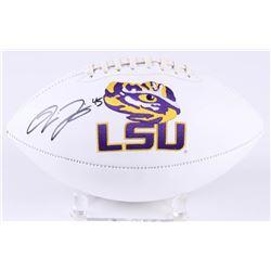 Deion Jones Signed LSU Tigers Logo Football (Radtke COA)