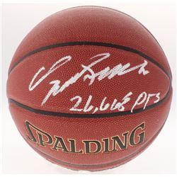 "Dominique Wilkins Signed Basketball Inscribed ""26,668 Pts"" (Schwartz COA)"