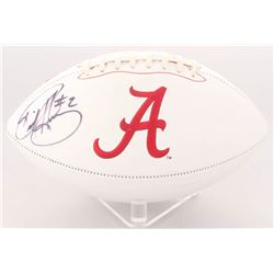 Derrick Henry Signed Alabama Crimson Tide Logo Football (Radtke Hologram)