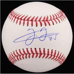 Frank Thomas Signed OML Baseball (Schwartz COA)