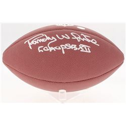 "Randy White Signed NFL Football Inscribed ""Co MVP SB XII"" (Schwartz COA)"