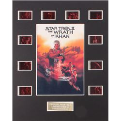 """Star Trek II: The Wrath of Khan"" Limited Edition Original Film/Movie Cell Display"