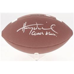 "Henry Winkler Signed NCAA Football Inscribed ""Coach Klein"" (Schwartz COA)"
