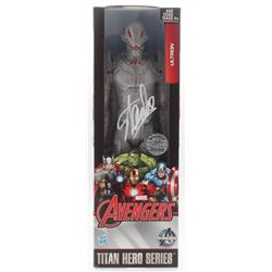 "Stan Lee Signed ""Ultron"" Avengers Marvel Titan Hero Series Figure (Radtke COA  Lee Hologram)"