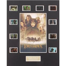 """The Lord of the Rings:  The Fellowship of the Ring"" Limited Edition Original Film/Movie Cell Displa"