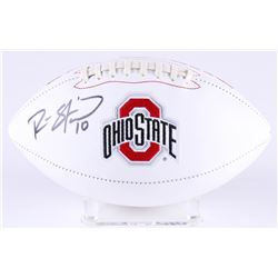 Ryan Shazier Signed Ohio State Buckeyes Logo Football (Radtke COA)