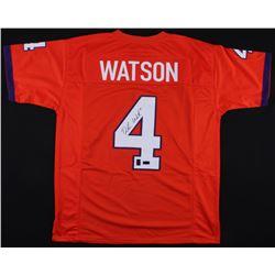 Deshaun Watson Signed Clemson Tigers Jersey (Radtke COA  Watson Hologram)