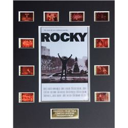 """Rocky"" Limited Edition Original Film/Movie Cell Display"