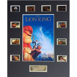 """The Lion King"" Limited Edition Original Film/Movie Cell Display"