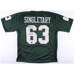 "Mike Singletary Signed Baylor Bears Jersey Inscribed ""2x All-American"" (Radtke COA)"