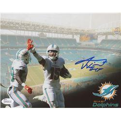 Albert Wilson Signed Dolphins 8x10 Photo (JSA COA)