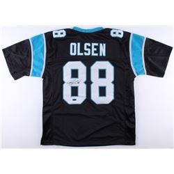 Greg Olsen Signed Panthers Jersey (Radtke COA)