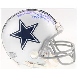 "Randy White Signed Cowboys Mini Helmet Inscribed ""HOF 94"" (Schwartz COA)"