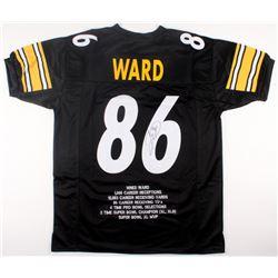 Hines Ward Signed Steelers Career Highlight Stat Jersey (JSA COA)