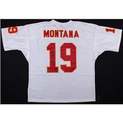 Joe Montana Signed Chiefs Jersey (Radtke COA  Montana Hologram)