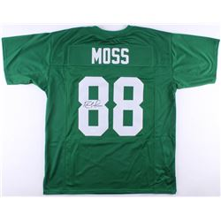 Randy Moss Signed Marshall Thundering Herd Jersey (JSA COA)