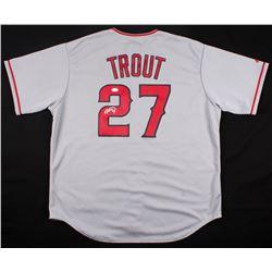 Mike Trout Signed Angels Majestic Jersey (JSA LOA)