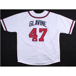 """Tom Glavine Signed Braves Jersey Inscribed """"HOF 2014"""" (JSA Hologram)"""