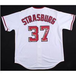 Stephen Strasburg Signed Washington Nationals Jersey (MLB Hologram)