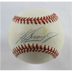 Ken Griffey Jr. Signed OAL Baseball (JSA Hologram)