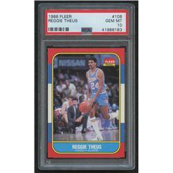 1986-87 Fleer #108 Reggie Theus (PSA 10)