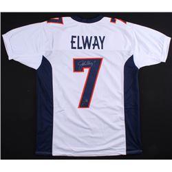 John Elway Signed Broncos Jersey (Radtke COA  Elway Hologram)