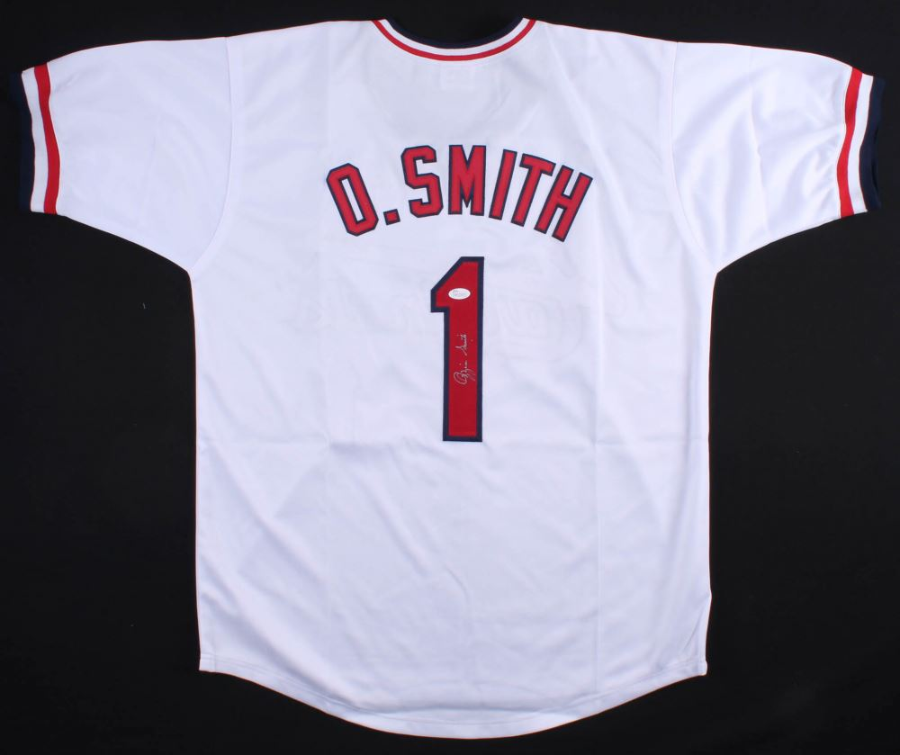 new product b4533 81e4f Ozzie Smith Signed Cardinals Jersey (JSA COA)