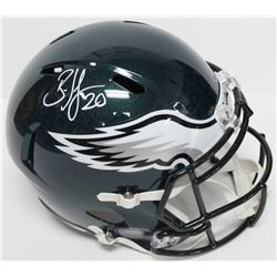 Brian Dawkins Signed Eagles Authentic On-Field Full-Size Speed Helmet (Beckett COA)