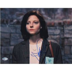 "Jodie Foster Signed ""Silence of the Lambs"" 11x14 Photo (Beckett COA)"
