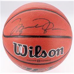 Michael Jordan Signed Basketball (PSA LOA  Upper Deck Hologram)