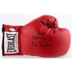 "Micky ""Irish"" Ward Signed Everlast Boxing Glove Inscribed ""The Fighter"" (JSA COA)"